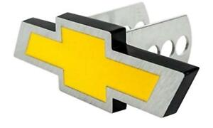 Chevrolet Bowtie Aluminum Trailer Hitch Plug Cover 2 1 1 4 Chevy Truck New