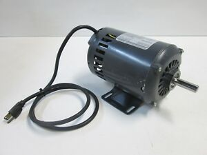 Craftsman Table Saw Electric Motor 1 Hp 14 2 Amp 115v 3450 Rpm Ccw Rotation