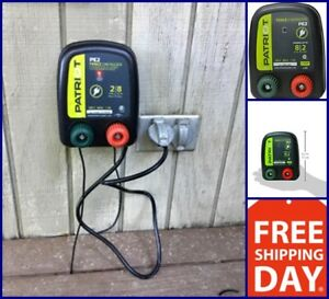 New Electric Fence Energizer 0 1 J Pe2 Patriot Charger Keep Out Small