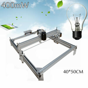 500mw 40x50 Diy Laser Engraving Marking Machine Engraver Wood Printer Kit