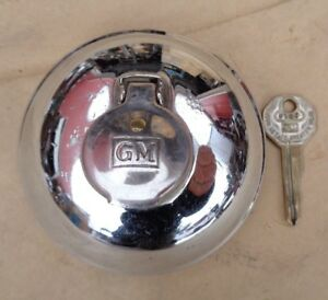 1937 1948 Chevy gm Locking Gas Cap W Key Original Stant 4401 a Fleetline