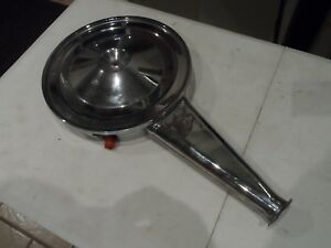 Vintage 1960 S Car Truck 2 Barrel Air Cleaner Assy Chrome Hot Rod Rat Rod Street