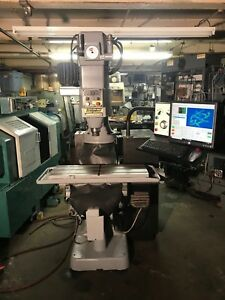 Bridgeport Cnc Full 3 Axis Machine X Y Z Running Mach 4 Software Installed