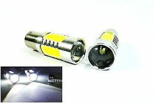 2x Cree Plasma Led 1156 P21w For Land Rover Projector Rear Turn Signal Light