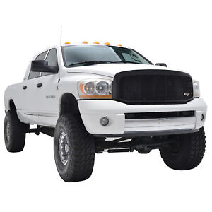 06 08 Dodge Ram 1500 07 09 Dodge Ram 2500 3500 Matte Black Grille Replacement