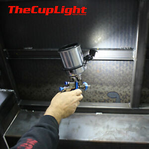 Automotive Spray Painting Gun Cup Light Great For Auto Industrial Commercial