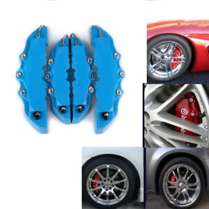 Fashion Multicolor 4pcs Disc Brake 3d Cars Parts Caliper Covers Front Rear Car