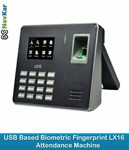 Biometric Time Attendance Machine System Direct Data To Usb Without Software