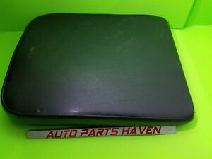 02 12 Ram Pickup Leather Center Console Lid Arm Rest Top Black Jump Seat