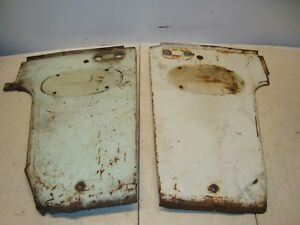 International Ih Farmall 560 Tractor Side Hood Radiator Panels
