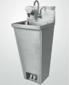 Foot Operated Stainless Steel Hand Sink