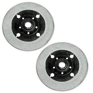 Set Of 2 Pto Discs For Oliver Tractor 77 88 770 880 Super 2 62 1550 1555 1655