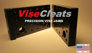 Visecleats Model 500 Hardened Precision Ground Tall Jaws For Kurt 6 vises