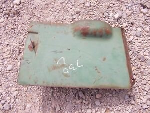 John Deere 730 Diesel Tractor Original Jd Pony Motor Starting Tank Door