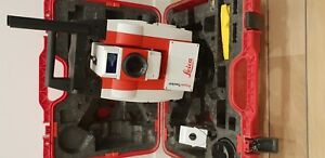 Leica Powertracker X Robotic Total Station Only For Surveying Leica Ccd6 Anten