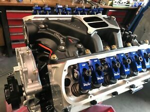 351w 357 Small Block Ford Long Block Race Prepped Makes 500 hp Edelbrock In