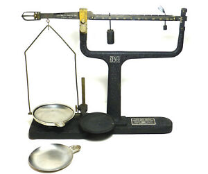 Vintage Cenco Agate Bearing Triple Beam Balance Scale