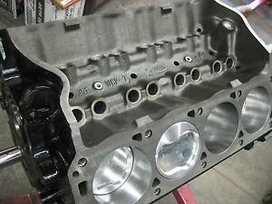 351w 408 4340 Steel Crank Ford Roller Short Block race Prepped 580 hp