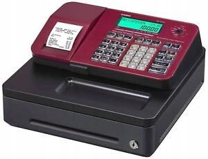 Casio Se s100 Sc rd Red Electronic Cash Register Brand New Sealed Box