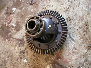 Farmall B Tractor Ih Transmission Main Final Drive Gear Ring Pinion