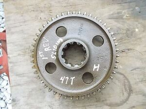 Farmall H Sh Tractor Main Transmission 1st First Drive Gear 47t Sliding Gear