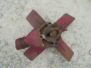 Mccormick Farmall F12 F14 Tractor Ih Engine Motor Fan Assembly Pulley