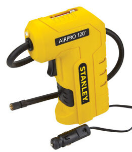 New Stanley Airpro 120 12v Corded Compressor With Digital Gauge Tire Inflator