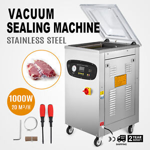 Dz 400s Automatic Vacuum Packing Sealing Sealer Machine 110v Meat Package