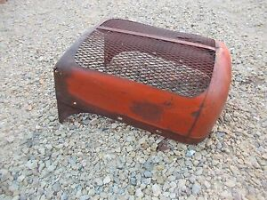 Allis Chalmers Wd Wd45 45 Tractor Ac Front Nose Cone Grill Screen Cover