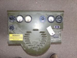 Mep Generator Control Head Military Surplus Military Surplus