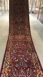 An Authentic Exceptional Size Sarouk Runner