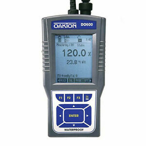 Oakton Wd 35441 00 Do 600 Dissolved Oxygen temperature Meter And Probe