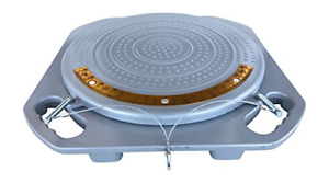 Pair Of Zackman Scientific Wheel Alignment Turn Plate Turnable With 10 Ton Free