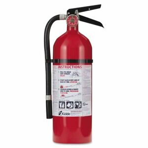 Kidde Pro Series 210 Rechargeable Fire Extinguisher 4 Lbs 2 a 10 b c