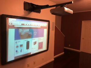 Promethean Activboard Prm ab378 02 Interactive Whiteboard With Projector Prm 30
