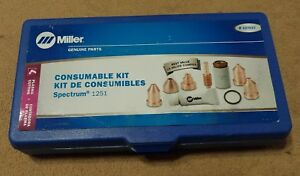 Miller 227037 Plasma Cutter Consumable Kit For Ice 100t Torch Spectrum 1251