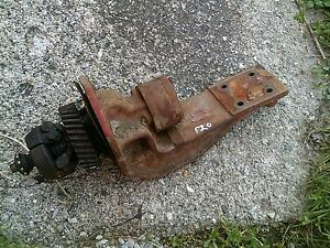 Farmall F20 Tractor Original Ihc Magneto Drive Assembly Gear Ih Mount Bracket