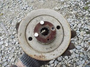 Farmall Cub Or Low Boy Tractor 59c2 Woods Mower Deck Main Pto Belt Drive Pulley