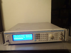 Ifr marconi 2024 100 Signal Generator 10khz 2 4ghz Only 323hrs Total Time