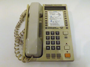 Panasonic Easa Phone Corded Desk Wall Phone Speaker Kx t2135