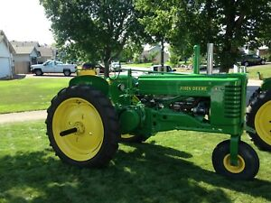 John Deere An With Official Serial Document
