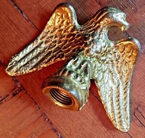 Solid Brass Painted Eagle Finial