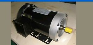 Cem Rolled Steel Ac Motor 208 230 460 1 5hp 1725rpm 56c 3phase Vfd Ready