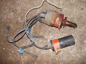 Case Vai Vac Tractor Engine Motor Distributor Drive Assembly Coil