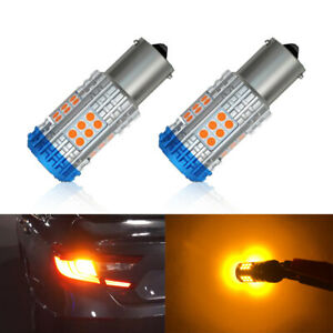 No Hyper Flash Amber 7507 Py21w Led Turn Signal Light For 2018 2019 Accord