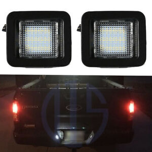 Bright White Led Tag License Plate Light Assembly For 2015 2017 2018 Ford F 150