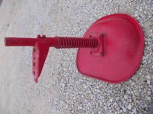 Farmall Cub Rowcrop Ih Seat Mounting Bracket Spring Post Seat Pan To Tractor