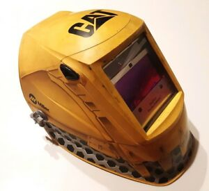 Miller Welder Co Cat Edition Digital Elite Auto Darkening Welding Helmet Hood