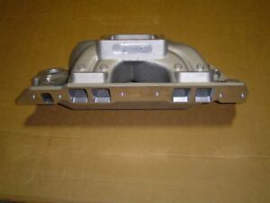 World Products Bmp 063040 Intake Manifold Bbc 4500 Flange 9 8 Deck Ht Brand New
