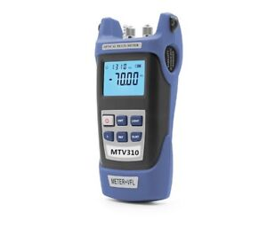 Portable Handheld Light Source Fiber Optic Power Meter Optical Multi meter Jw320